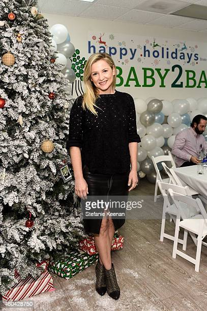 Jessica Capshaw attends Baby2Baby Holiday Party Presented By The Honest Company at Baby2Baby Headquarters on December 13 2014 in Los Angeles...