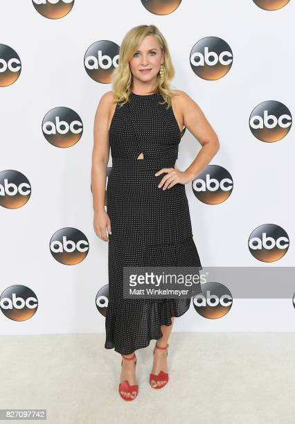 Jessica Capshaw attends the 2017 Summer TCA Tour Disney ABC Television Group at The Beverly Hilton Hotel on August 6 2017 in Beverly Hills California
