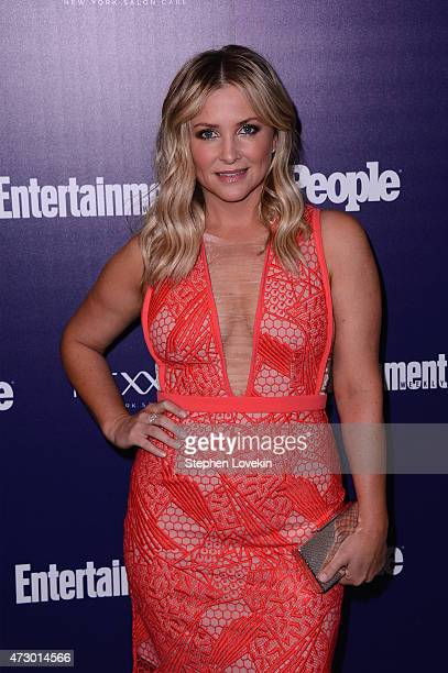 Jessica Capshaw attends the Entertainment Weekly and PEOPLE celebration of The New York Upfronts at The Highline Hotel on May 11 2015 in New York City