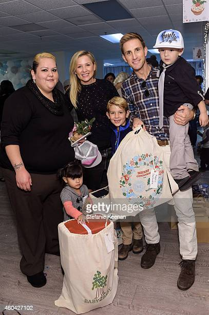 Jessica Capshaw Christopher Gavigan and guests attend Baby2Baby Holiday Party Presented By The Honest Company at Baby2Baby Headquarters on December...
