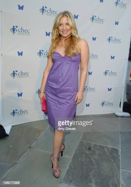 Jessica Capshaw during Ford Escape Hybrid at CHEC's Healthy Earth Healthy Child at Private Residence in Pacific Palisades California United States