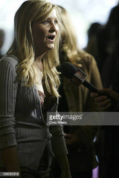 Jessica Capshaw during InStyle Sneak Peek at Red Carpet Fashion for The 2004 Awards Season at Beverly Hills Hotel in Beverly Hills California United...