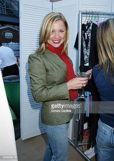 Jessica Capshaw during Lola Cosmetics and Lucky Magazine Party in Los Angeles California United States