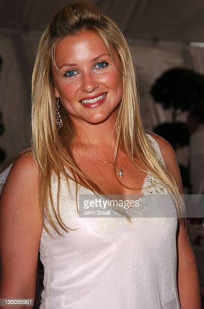 Jessica Capshaw during The Coach Luncheon to Benefit Peace Games at the Home of Quincy Jones at Quincy Jones' House in Beverly Hills California...