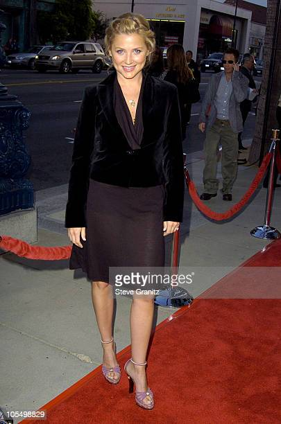 Jessica Capshaw during 'The Terminal' World Premiere Arrivals at The Academy in Beverly Hills California United States