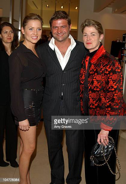 Jessica Capshaw Guglielmo Melegari President of Max Mara USA and Andrea Cockrum CEO of The Fulfillment Fund