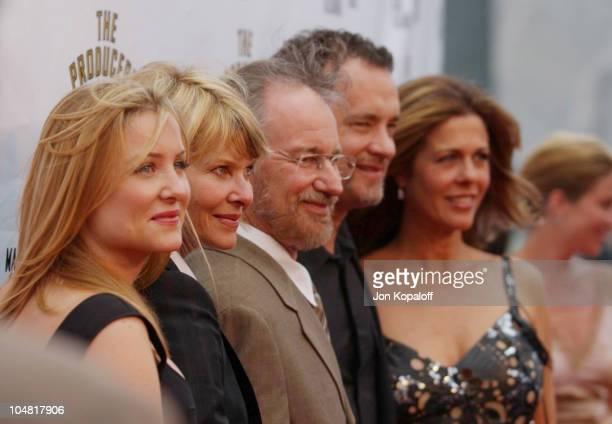 Jessica Capshaw Kate Capshaw Steven Spielberg Tom Hank and Rita Wilson