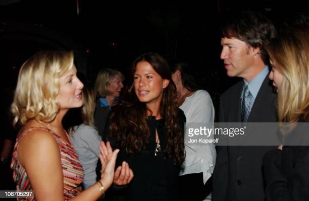 Jessica Capshaw Rhona Mitra David E Kelley and Michelle Pfeiffer