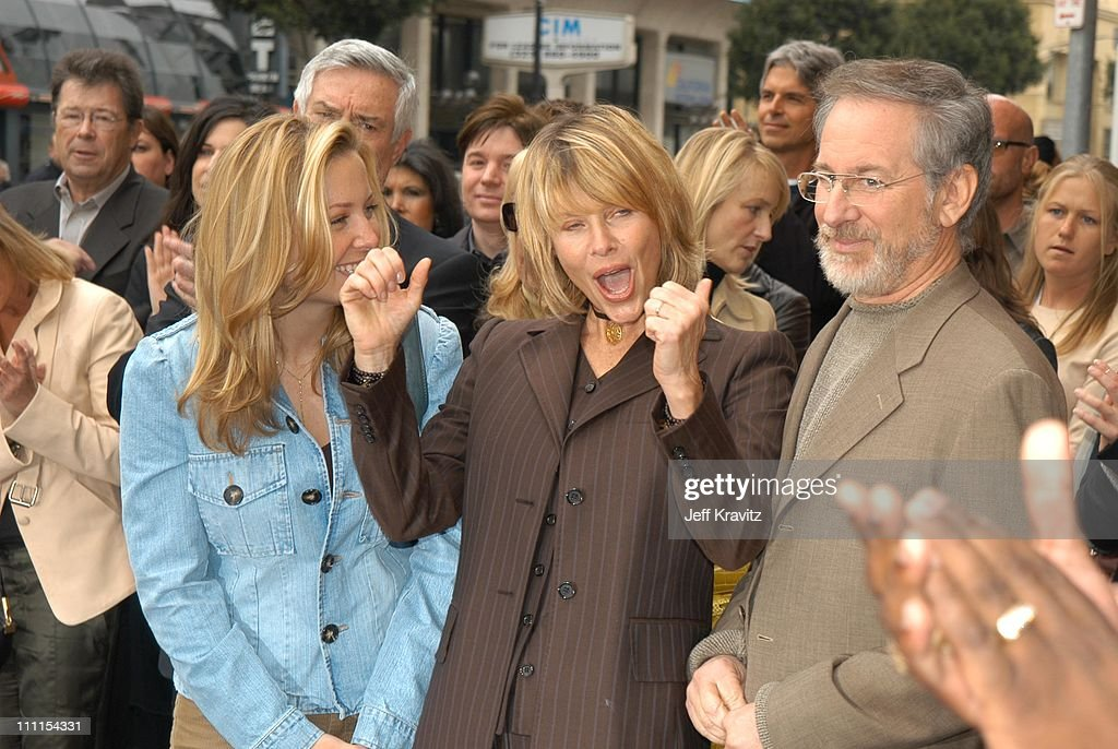 Jessica Capshaw Steven Spielberg and Kate Capshaw