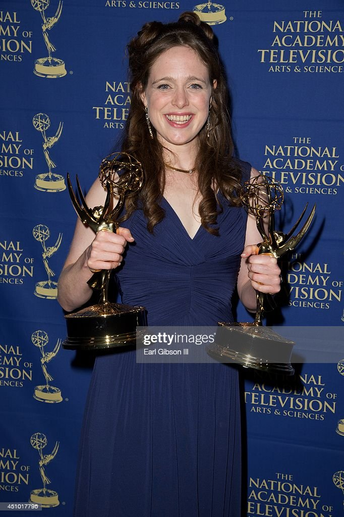 Jessica Carleton attends the Daytime Creative Arts Emmy Awards at Westin Bonaventure Hotel on June 20, 2014 in Los Angeles, California.