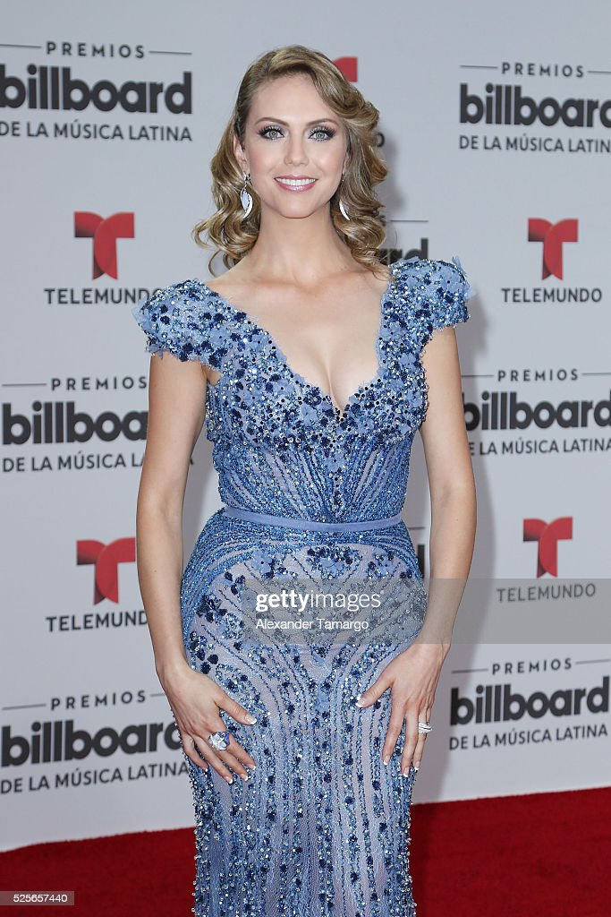 Jessica Carrillo attends the Billboard Latin Music Awards at Bank United Center on April 28, 2016 in Miami, Florida.