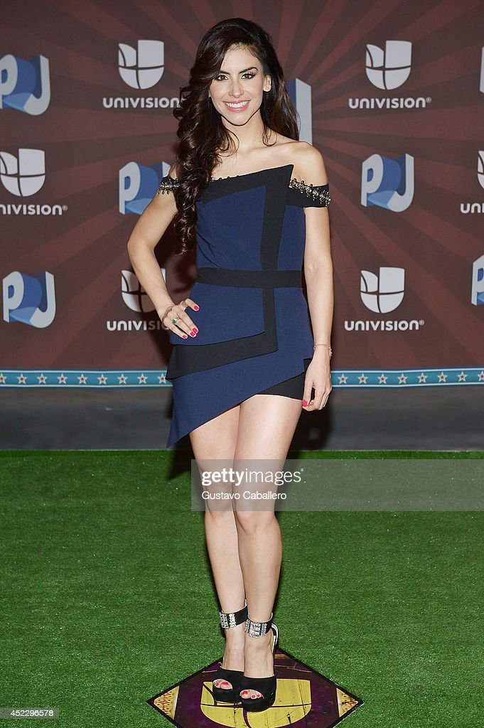 Jessica Cediel attends the Premios Juventud 2014 at The BankUnited Center on July 17, 2014 in Coral Gables, Florida.
