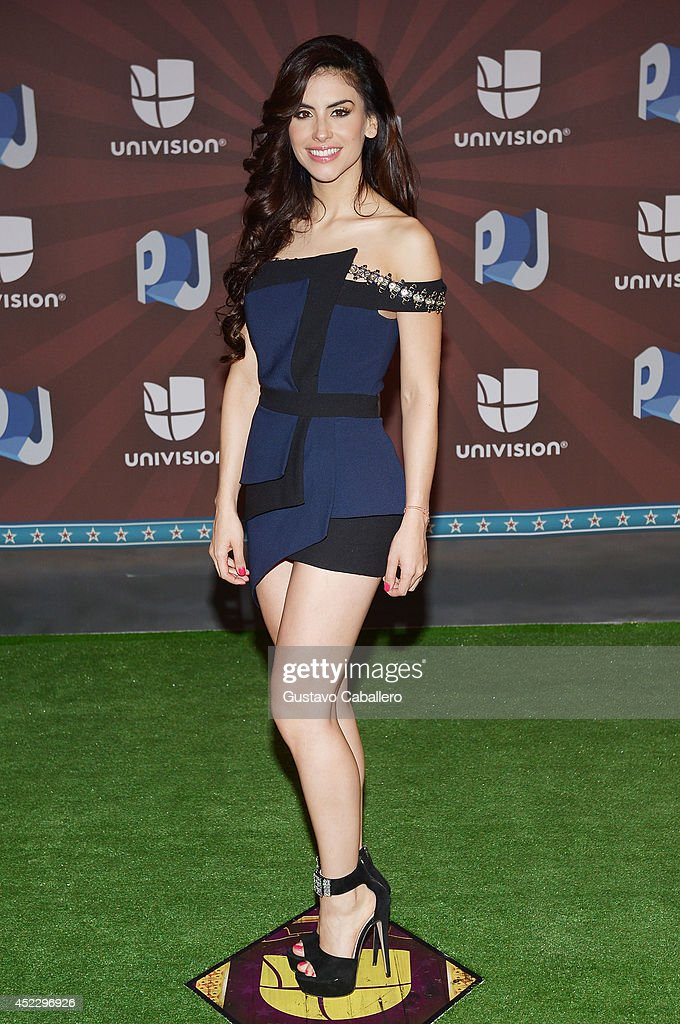 <a gi-track='captionPersonalityLinkClicked' href=/galleries/search?phrase=Jessica+Cediel&family=editorial&specificpeople=6850627 ng-click='$event.stopPropagation()'>Jessica Cediel</a> attends the Premios Juventud 2014 at The BankUnited Center on July 17, 2014 in Coral Gables, Florida.
