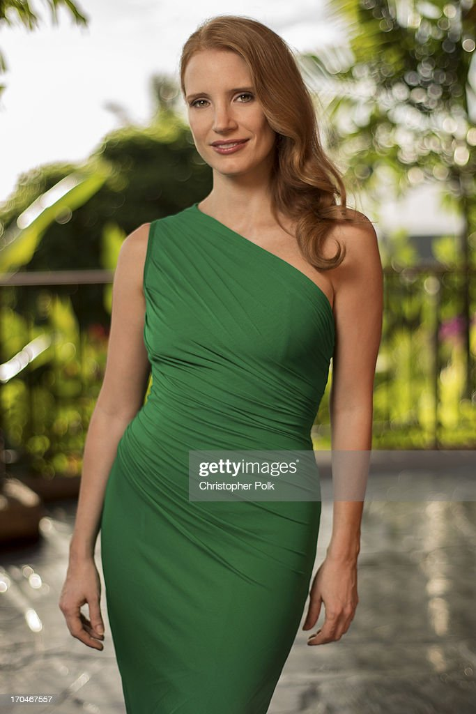 Jessica Chastain appears at the opening night of the 2013 Maui Film Festival At Wailea on June 12 2013 in Wailea Hawaii