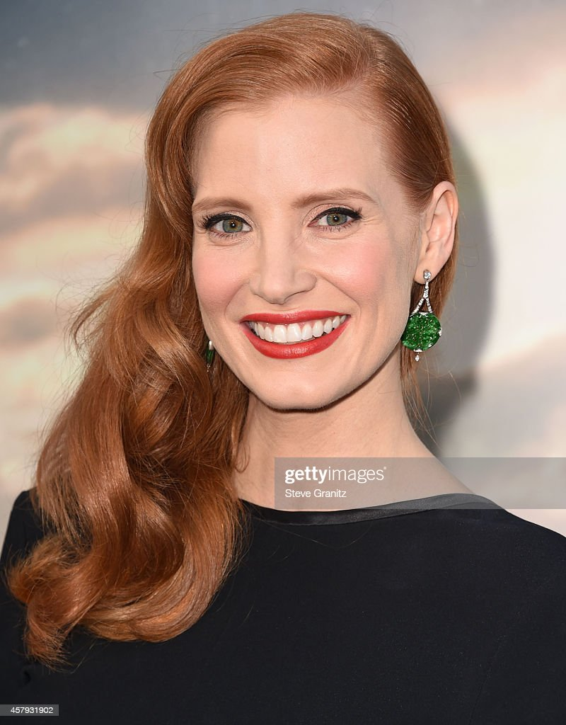 Jessica Chastain arrives at the 'Interstellar' - Los Angeles Premiere at TCL Chinese Theatre IMAX on October 26, 2014 in Hollywood, California.