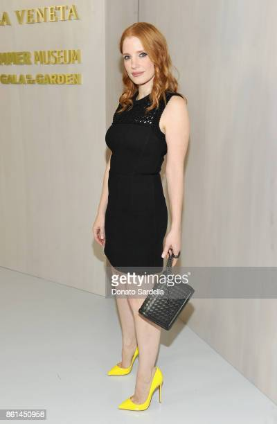 Jessica Chastain at the Hammer Museum 15th Annual Gala in the Garden with Generous Support from Bottega Veneta on October 14 2017 in Los Angeles...