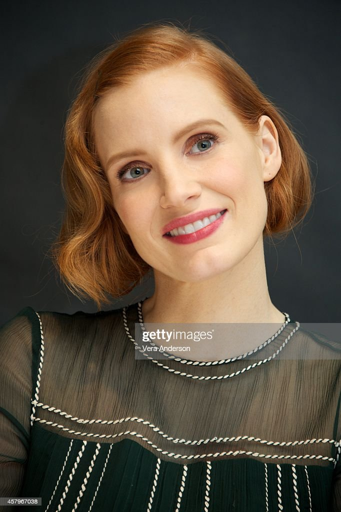 Jessica Chastain at the 'Interstellar' Press Conference at the Four Seasons Hotel on October 26 2014 in Beverly Hills California