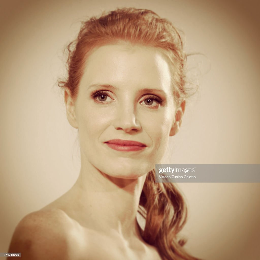 <a gi-track='captionPersonalityLinkClicked' href=/galleries/search?phrase=Jessica+Chastain&family=editorial&specificpeople=653192 ng-click='$event.stopPropagation()'>Jessica Chastain</a> attends 2013 Giffoni Film Festival press conference on July 21, 2013 in Giffoni Valle Piana, Italy.