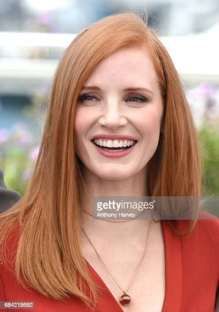Jessica Chastain attends the Jury photocall during the 70th annual Cannes Film Festival at Palais des Festivals on May 17 2017 in Cannes France