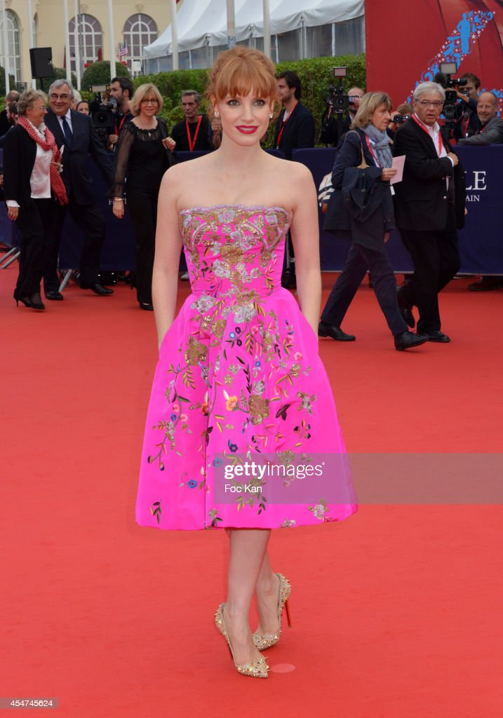 Jessica Chastain attends the Opening Ceremony 40th Deauville American Film Festival at the CID on September 5 2014 in Deauville France