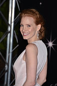 Jessica Chastain attends the Opening Night Dinner during 65th Annual Cannes Film Festival at Palais des Festivals on May 16 2012 in Cannes France