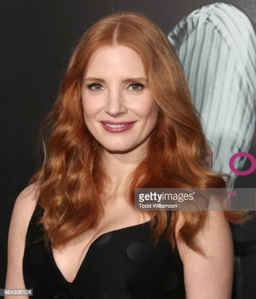Jessica Chastain attends the premiere Of AMC's 'The Son' at ArcLight Hollywood on April 3 2017 in Hollywood California