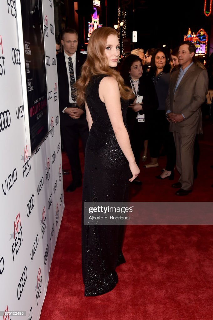 "AFI FEST 2017 Presented By Audi - Closing Night Gala - Screening Of ""Molly's Game"" - Red Carpet"