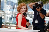 Jessica Chastain attends 'The Tree Of Life' photocall during the 64th Annual Cannes Film Festival at Palais des Festivals on May 16 2011 in Cannes...