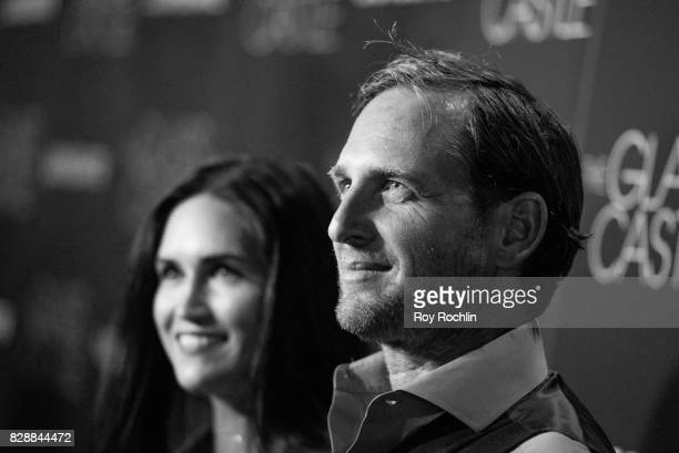 Jessica Ciencin Henriquez and Josh Lucas attends 'The Glass Castle' New York screening at SVA Theatre on August 9 2017 in New York City