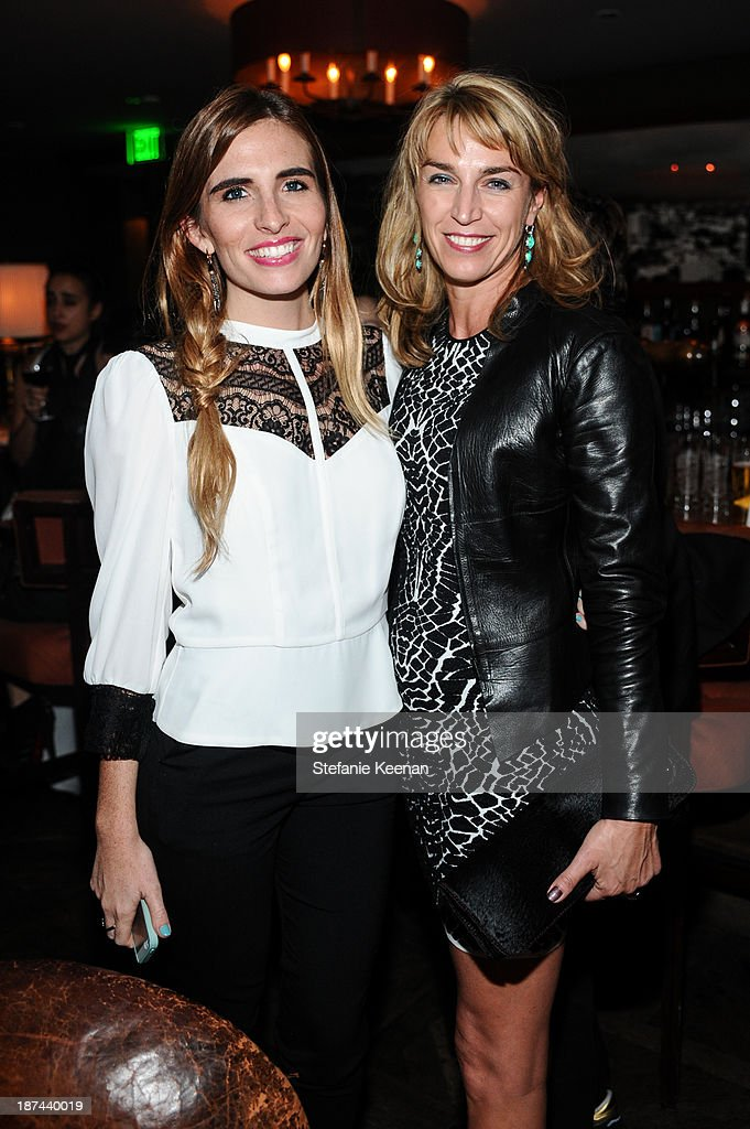 Jessica Craig and Assia Webster attend The 'Last Supper' Discussion hosted By Stephen Webster At Soho House at Soho House on November 8, 2013 in West Hollywood, California.