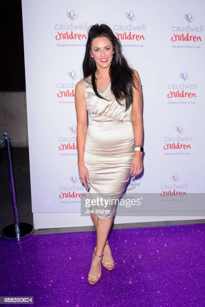 Jessica Cunningham attends the Caudwell Children Butterfly Ball at Grosvenor House on May 25 2017 in London England