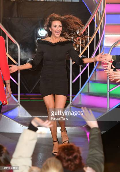 Jessica Cunningham is the 7th housemate evicted from the Celebrity Big Brother house at Elstree Studios on January 27 2017 in Borehamwood England