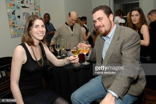 Jessica Curcell and Ben Weinberg attend OLDMAN'S BRAVE NEW WORLD OF WINE Book Launch Hosted by W W Norton and Mark Oldman at Residence of Mark Oldman...
