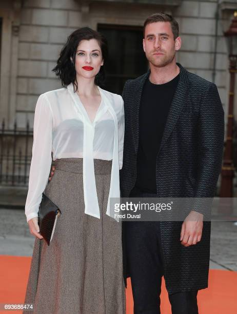 Jessica De Gouw and Oliver JacksonCohen attend the preview party for the Royal Academy Summer Exhibition at Royal Academy of Arts on June 7 2017 in...
