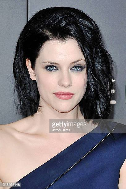 Jessica de Gouw arrives at the Premiere of WGN America's 'Underground' at The Theatre at The Ace Hotel on March 2 2016 in Los Angeles California