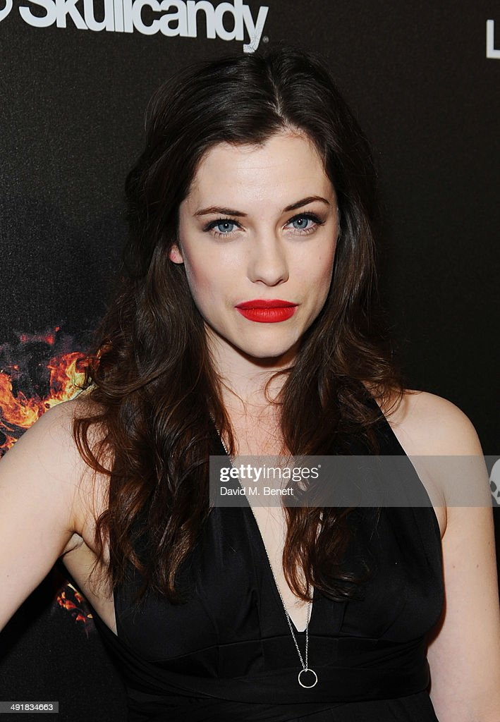 Jessica De Gouw attends Lionsgate's 'The Hunger Games: Mockingjay Part 1' party at a private villa on May 17, 2014 in Cannes, France.