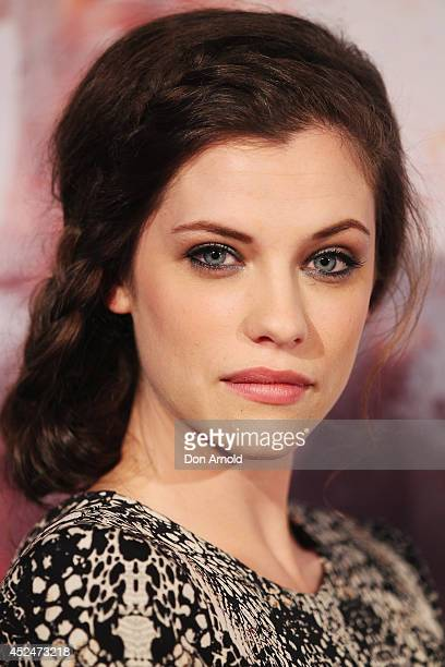 Jessica de Gouw attends the Australian premiere for 'These Final Hours' at Hoyts Broadway on July 21 2014 in Sydney Australia