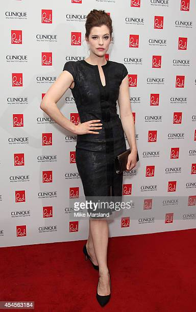 Jessica De Gouw attends the Red magazine Women of the Year awards at Ham Yard Hotel on September 3 2014 in London England