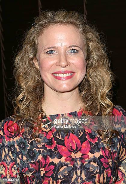 Jessica Dickey attends the Opening Night After Party for 'Pocatello' at Heartland Brewery on December 15 2014 in New York City