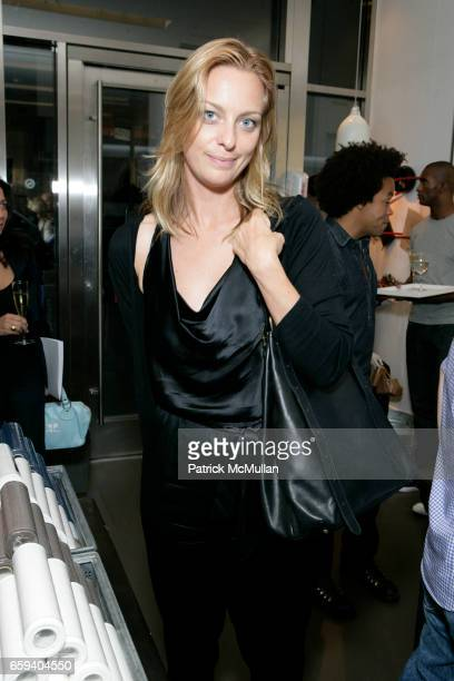 Jessica Diehl attends MERCI GAP Preview Cocktail Party Hosted By Patrick Robinson MarieFrance and Bernard Cohen at Merci Gap Merci on September 9...