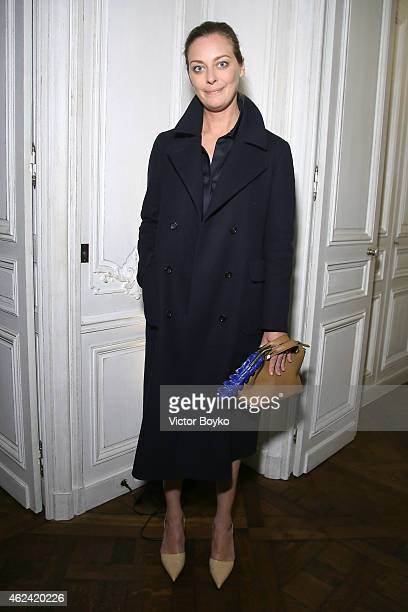Jessica Diehl attends the party for Dasha Zhukova' cover for Wall Street Journal on January 27 2015 in Paris France
