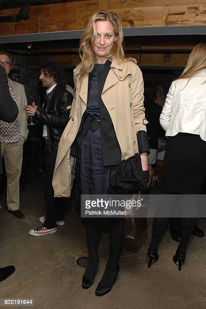 Jessica Diehl attends The THEORY Icon Project hosts DAVID ELLIS Dinner and Opening of 'Flyway' at Theory on April 8 2008 in New York City