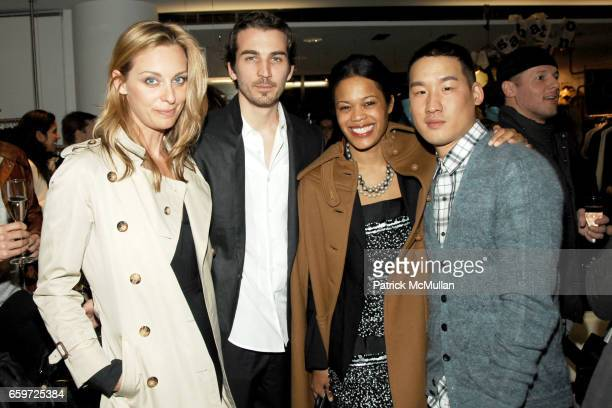 Jessica Diehl Jamie Johnson Bonnie Morrison and Richard Chai attend BARNEYS NEW YORK Celebrates RICHARD CHAI BEN JONES TShirt collaboration to...