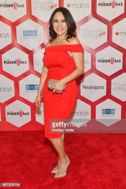 Jessica Dominguez attends People En Espanol's 25 Most Powerful Women Luncheon 2017 at Hyatt Regency on March 24 2017 in Coral Gables Florida