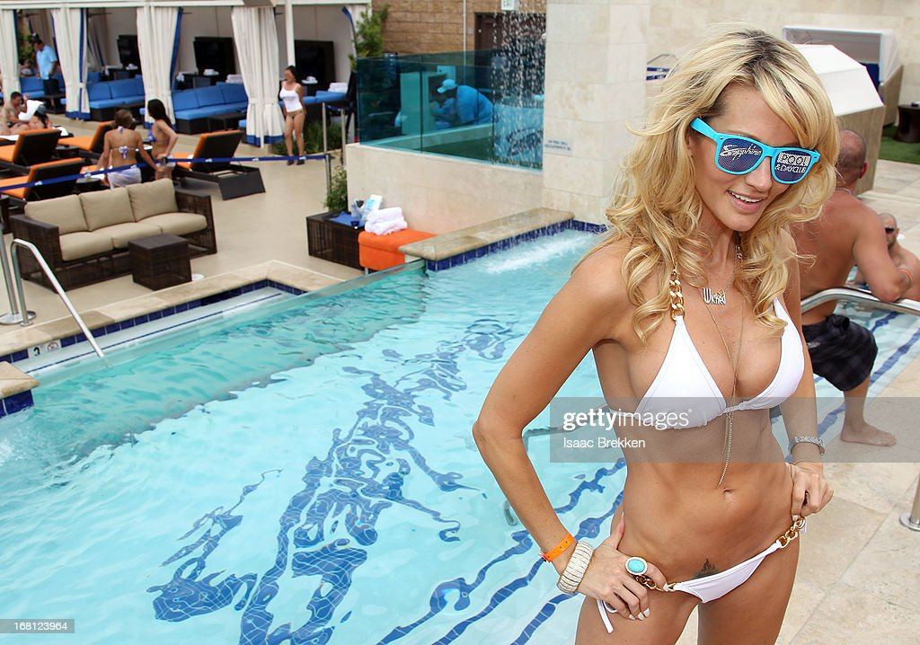 Jessica Drake attends the grand opening of the Sapphire Pool & Day Club on May 5, 2013 in Las Vegas, Nevada.