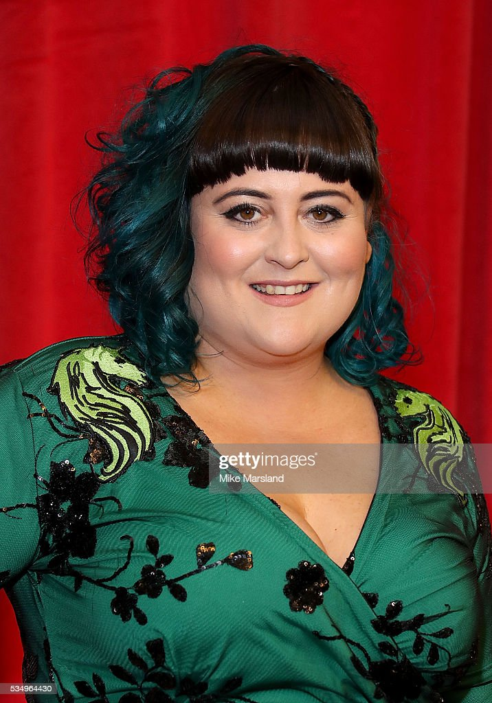 Jessica Ellis attends the British Soap Awards 2016 at Hackney Empire on May 28, 2016 in London, England.