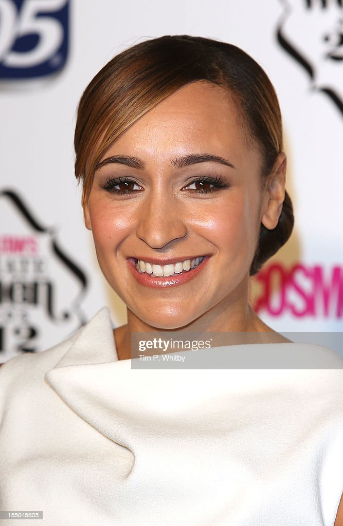 Jessica Ennis attends the Cosmopolitan Ultimate Woman of the Year awards at Victoria & Albert Museum on October 30, 2012 in London, England.