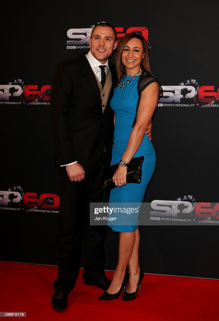 <a gi-track='captionPersonalityLinkClicked' href=/galleries/search?phrase=Jessica+Ennis&family=editorial&specificpeople=602482 ng-click='$event.stopPropagation()'>Jessica Ennis</a>-Hill and Andy Hill attend the BBC Sports Personality of the Year Awards at First Direct Arena on December 15, 2013 in Leeds, England.