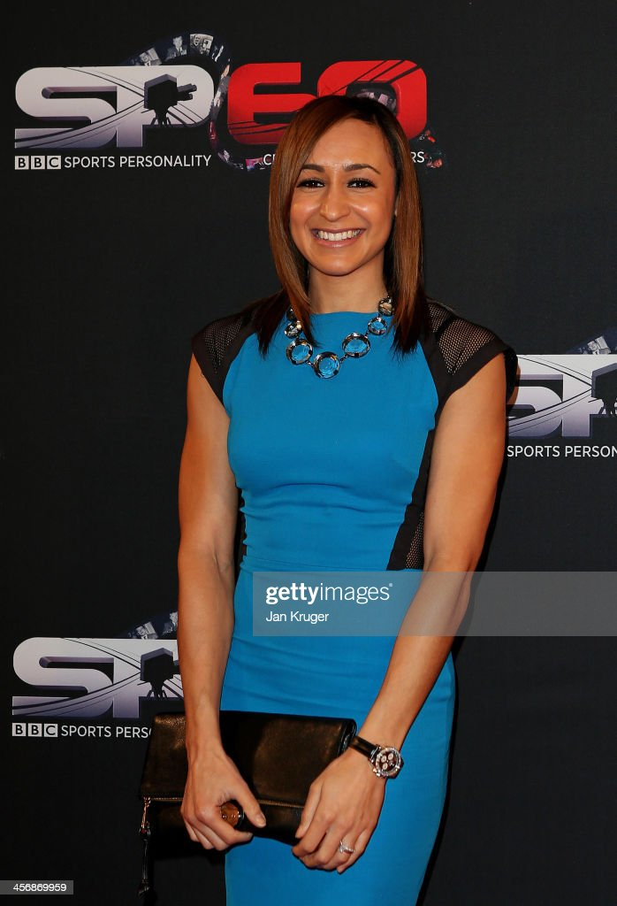 <a gi-track='captionPersonalityLinkClicked' href=/galleries/search?phrase=Jessica+Ennis&family=editorial&specificpeople=602482 ng-click='$event.stopPropagation()'>Jessica Ennis</a>-Hill attends the BBC Sports Personality of the Year Awards at First Direct Arena on December 15, 2013 in Leeds, England.