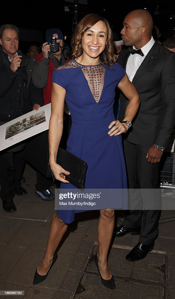 Jessica Ennis-Hill attends the British Olympic Ball at The Dorchester on October 30, 2013 in London, England.